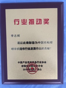 行业推动奖 / Industry Promotion Award